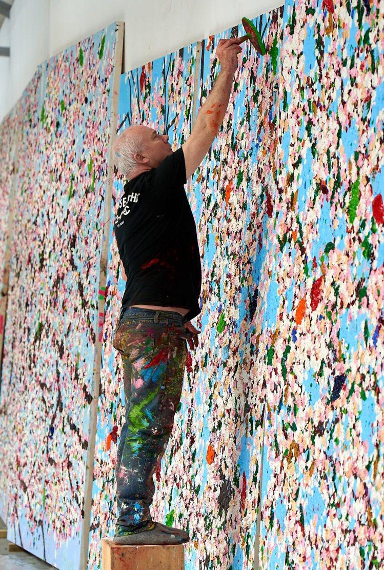 藝術家Damien Hirst。圖/卡地亞提供