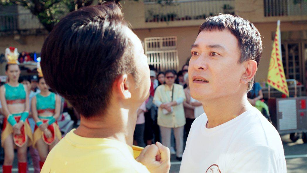 王識賢(右)和李李仁的吵架戲衝出高收視。圖/東森提供