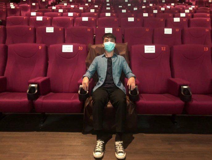 秀泰影城迎接復業首日,祭出10大嚴格防疫措施。圖/秀泰影城提供