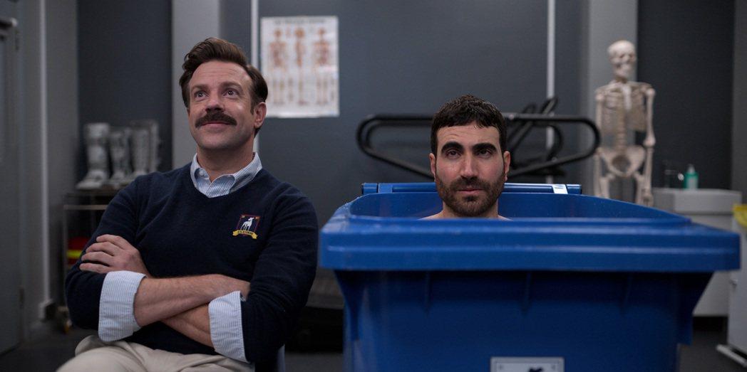 「泰德拉索:錯棚教練趣事多」打破艾美獎影史喜劇最多獎項入圍紀錄。圖/APPLE ...