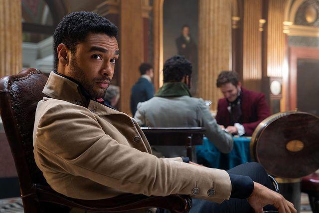 雷吉尚佩吉以「柏捷頓家族」的精湛演出,提出戲劇類最佳男主角。圖/Netflix提...