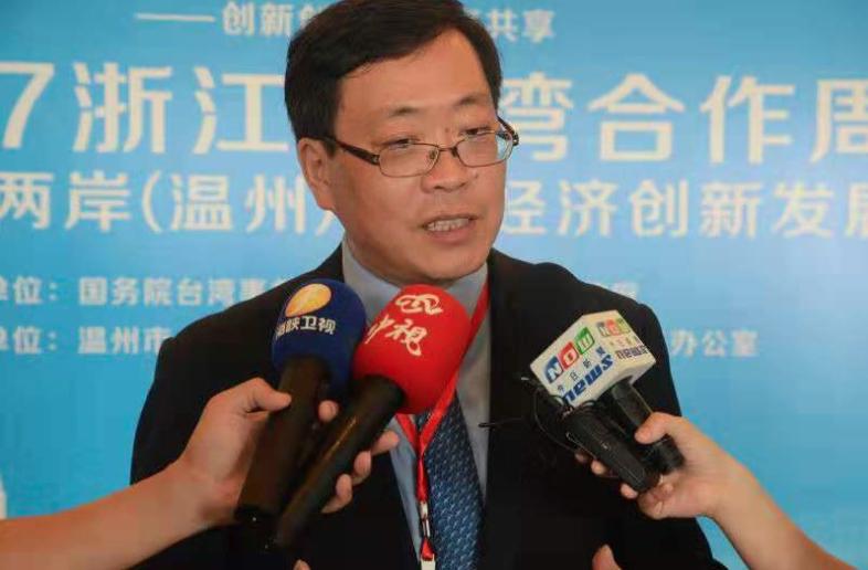 上海社科院台灣研究中心主任盛九元。(香港文匯網)