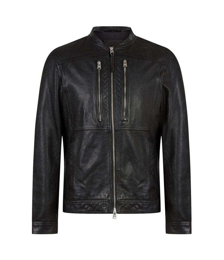 AllSaints Monix皮衣夾克19,700元。圖/AllSaints提供
