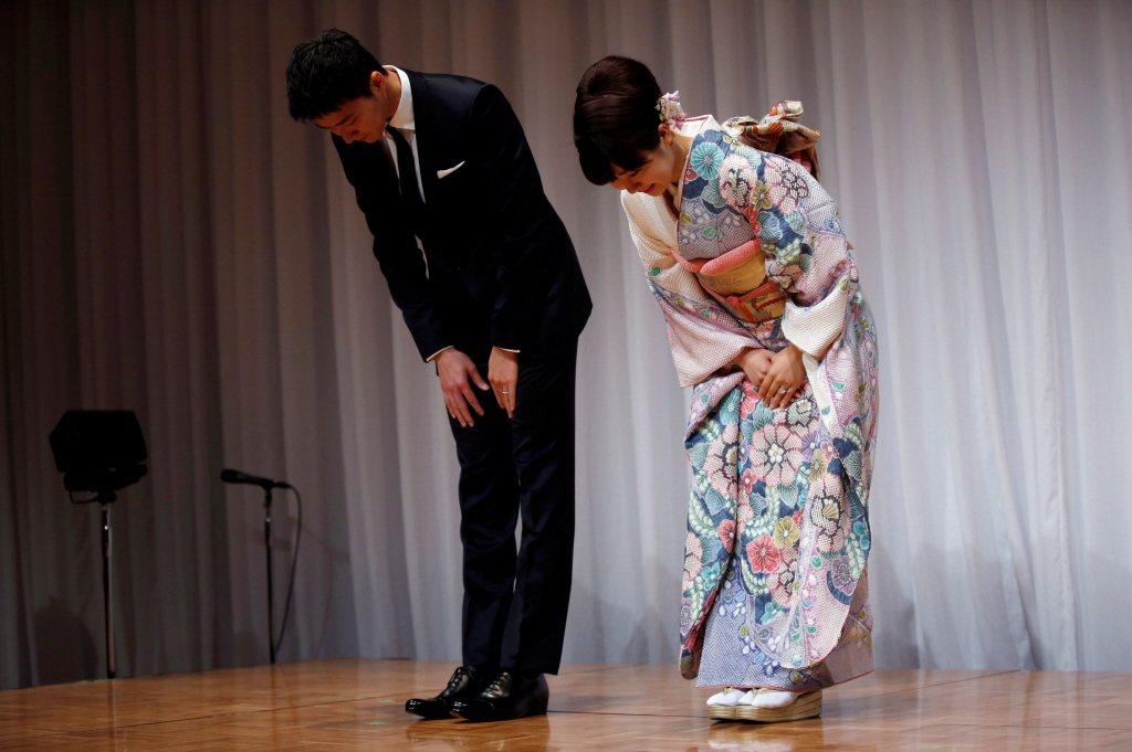 福原愛、江宏傑於7月發布離婚聲明,並表示仍會共同監護兩名孩子。 圖/路透社