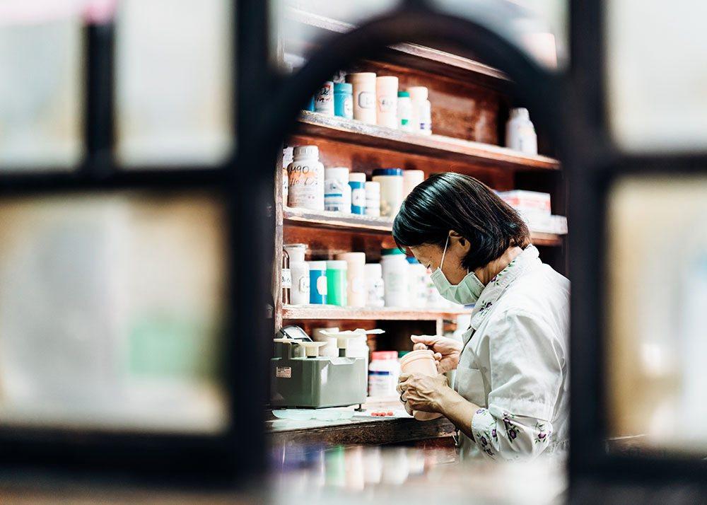 現存3間岡山的日治時代西醫診所中,太原診所不僅內部保留原貌,也是唯一仍在執業的診...