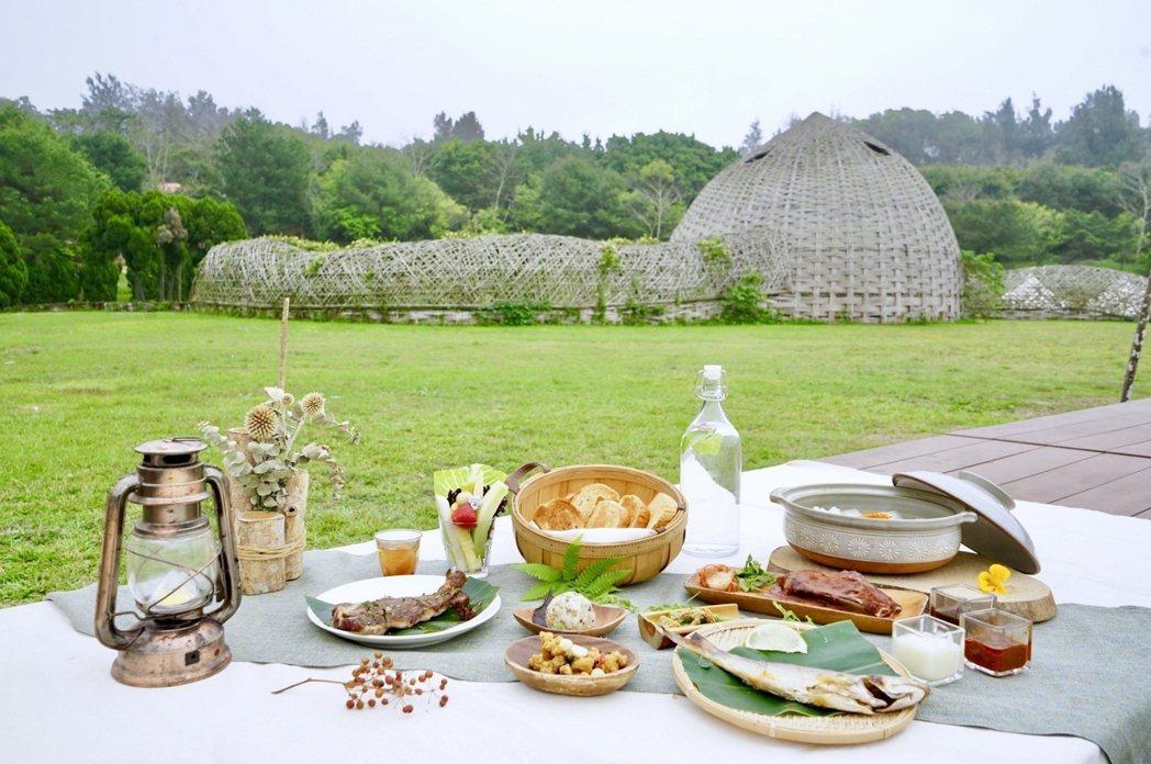 二日遊可體驗仲夏之夜大地餐桌。圖/勤美學提供