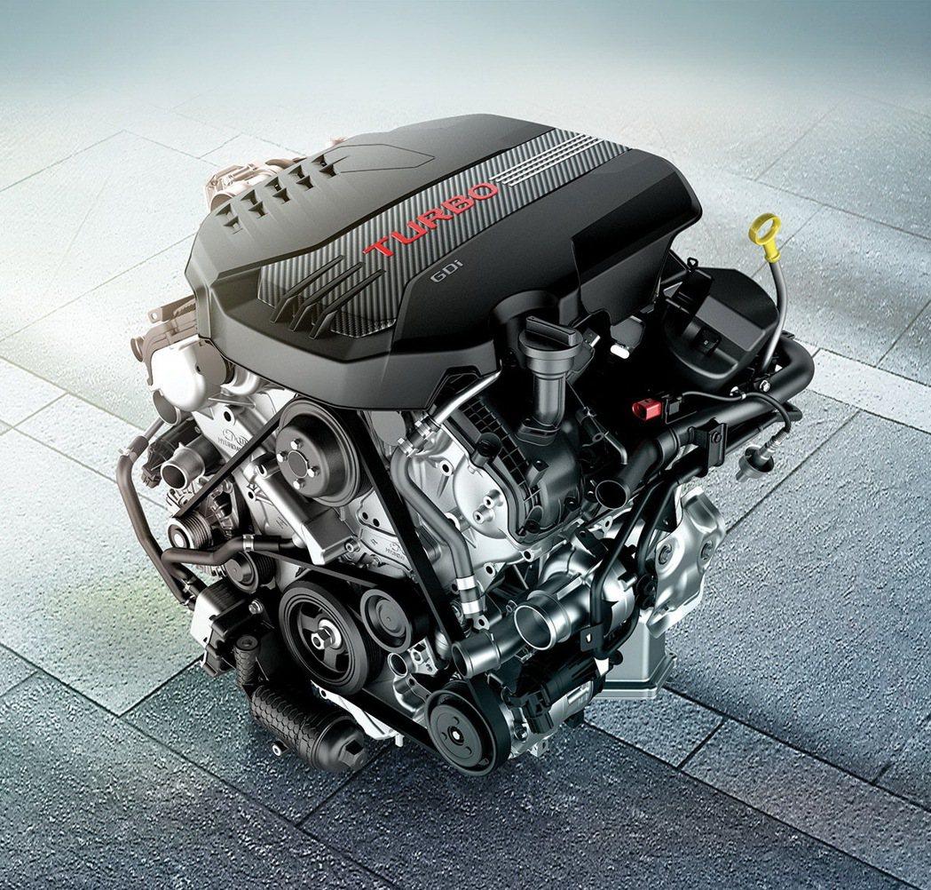 3.3 T-GDI 引擎。 圖/台灣森那美起亞提供