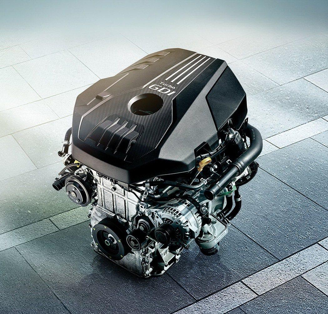 2.0 T-GDI 引擎。 圖/台灣森那美起亞提供