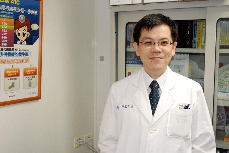 成大醫院內分泌新陳代謝科 歐弘毅主任提醒,「很難處理的頑固型高血壓,若合併有低血...