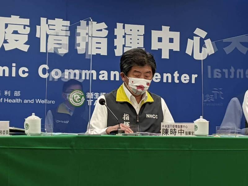 中央流行疫情指揮中心指揮官陳時中。記者謝承恩攝影/報系資料照