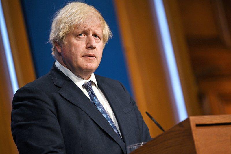 英國首相強生。 路透社