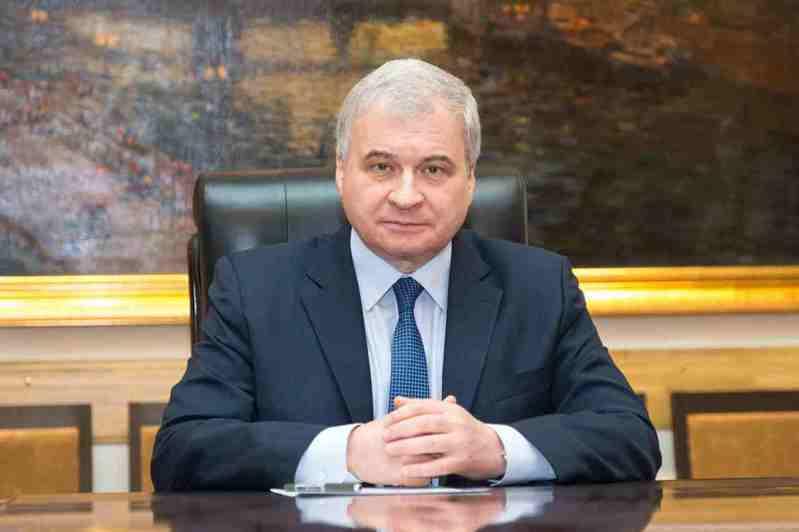 俄羅斯駐北京大使安德烈·杰尼索夫。(取自俄羅斯駐北京大使館官網)