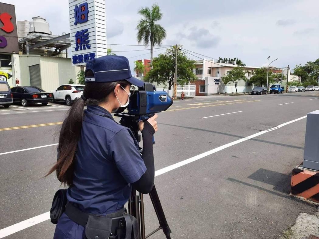 警方已加強轄區易肇事路段取締超速,特別是事故較多的中華西路一段、金華路一段及永成...