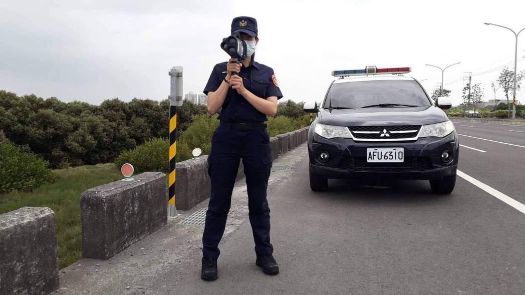 台南市警六分局指出,警方透過科技執法、速度管理執行測照,並不是以取締件數為目的,...