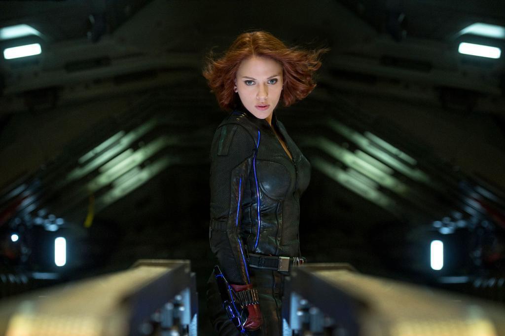 「黑寡婦」是思嘉莉約翰森的經典角色。圖/myVideo提供