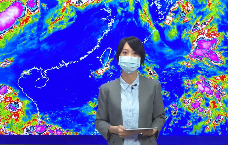 氣象局說,近兩周熱帶系統活耀。圖/氣象局提供