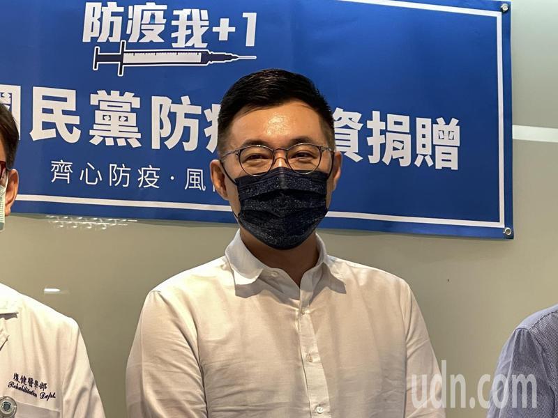 國民黨主席江啟。圖╱聯合報系資料照(記者王敏旭攝影)