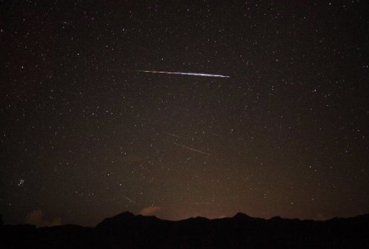 英仙座流星雨8月12日登場,南瀛天文館將直播導覽說故事。圖/天文館提供