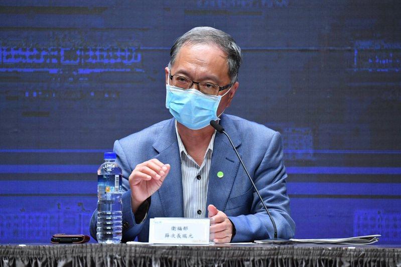 衛福部次長薛瑞元。圖/行政院提供
