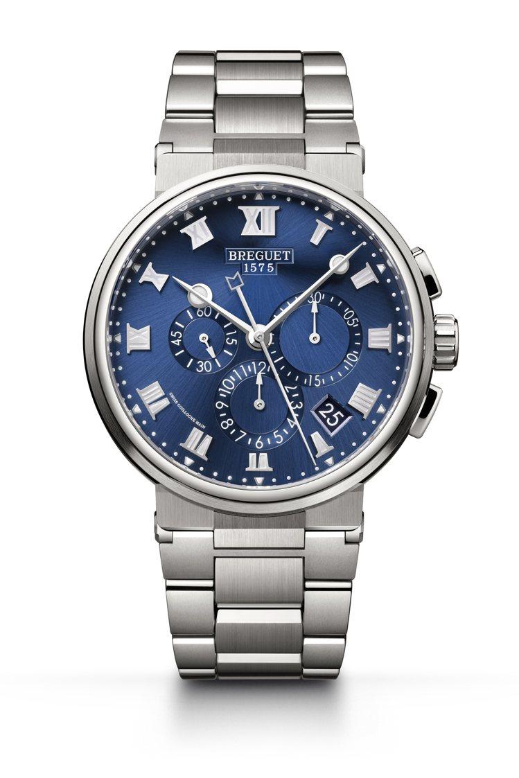 BREGUET Marine Chronograph 5527航海系列計時腕表,...