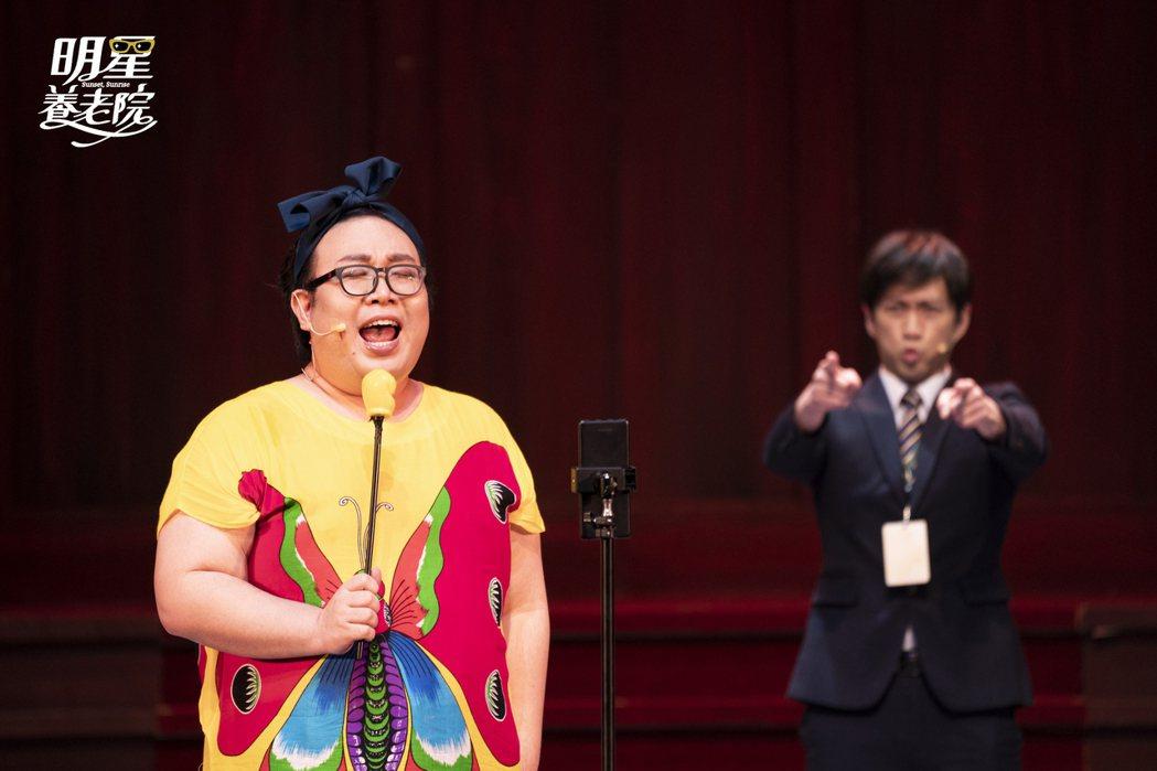 網紅娘娘第一次參加舞台劇的演出。圖/金星文創、聯合數位文創、好位子劇團提供