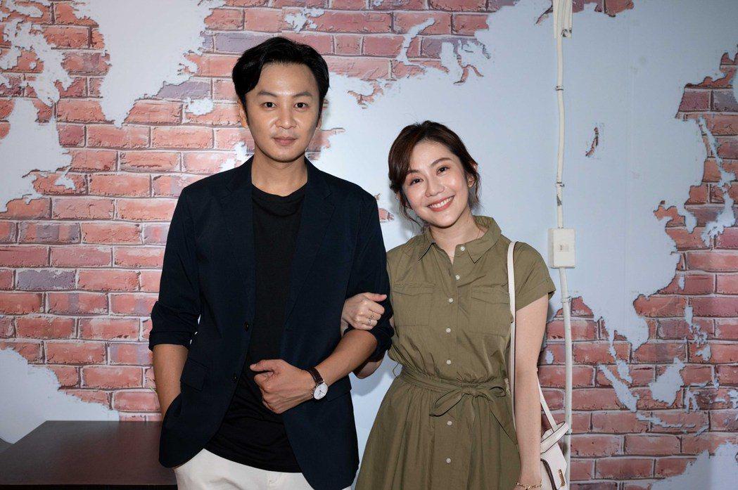 張書偉在「女力報到」中外遇出軌,元配王宇婕氣到想砍他。圖/TVBS提供