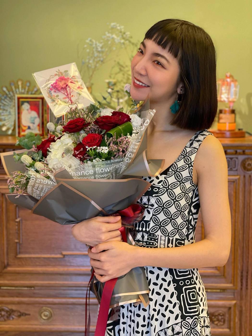 高雋雅在線上過30歲生日。圖/高雋雅提供