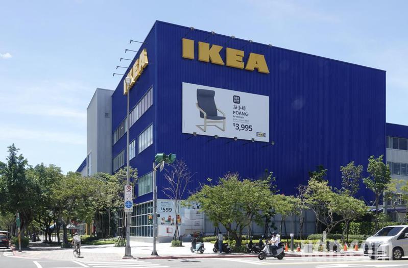 IKEA內湖店有確診者足跡。記者林俊良/攝影