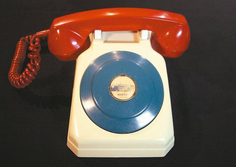 甘迺迪時代的「紅機」。(美聯社)