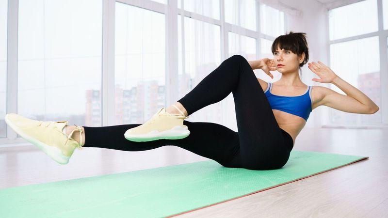 4分鐘TABATA,短時間的聚焦訓練,訓練腹肌、緊實身體。圖/Canva