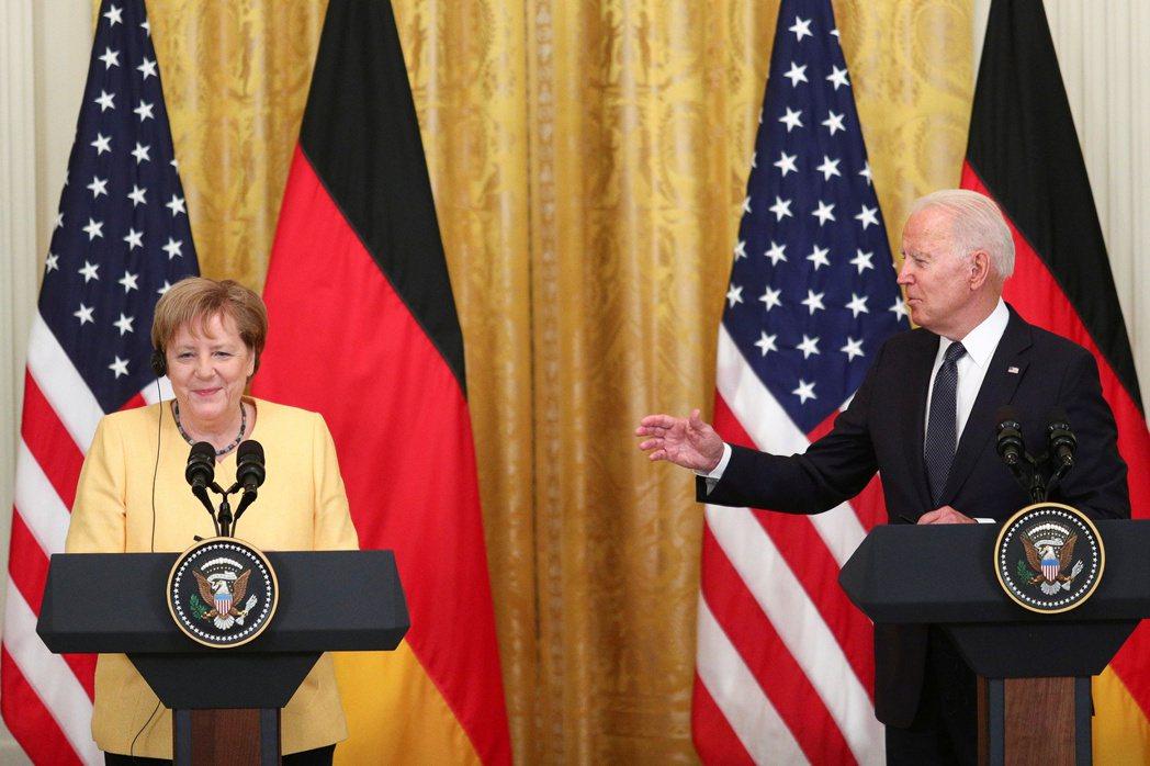 正當德國遭遇極端天災之際,德國總理梅克爾人則剛好飛抵美國華府,並在白宮與「老友」...