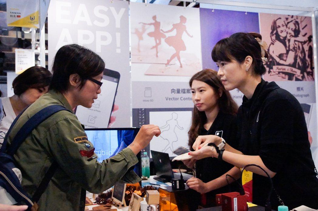 「亞洲手創展Pop Up Asia」除了慕名前來「挖寶」消費者,還有手創者、製造...