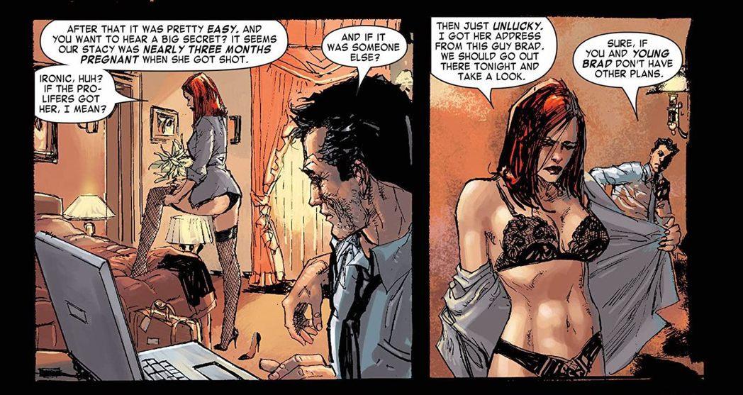 娜塔莎與史黛西素未謀面,卻對她產生了同理心。 圖/取自comixology
