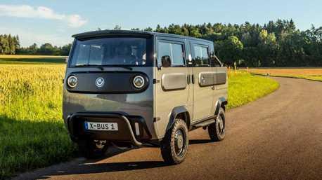 台幣60萬就可以搞定! 多變Xbus電動車亮相 MPV、皮卡、露營車隨你選