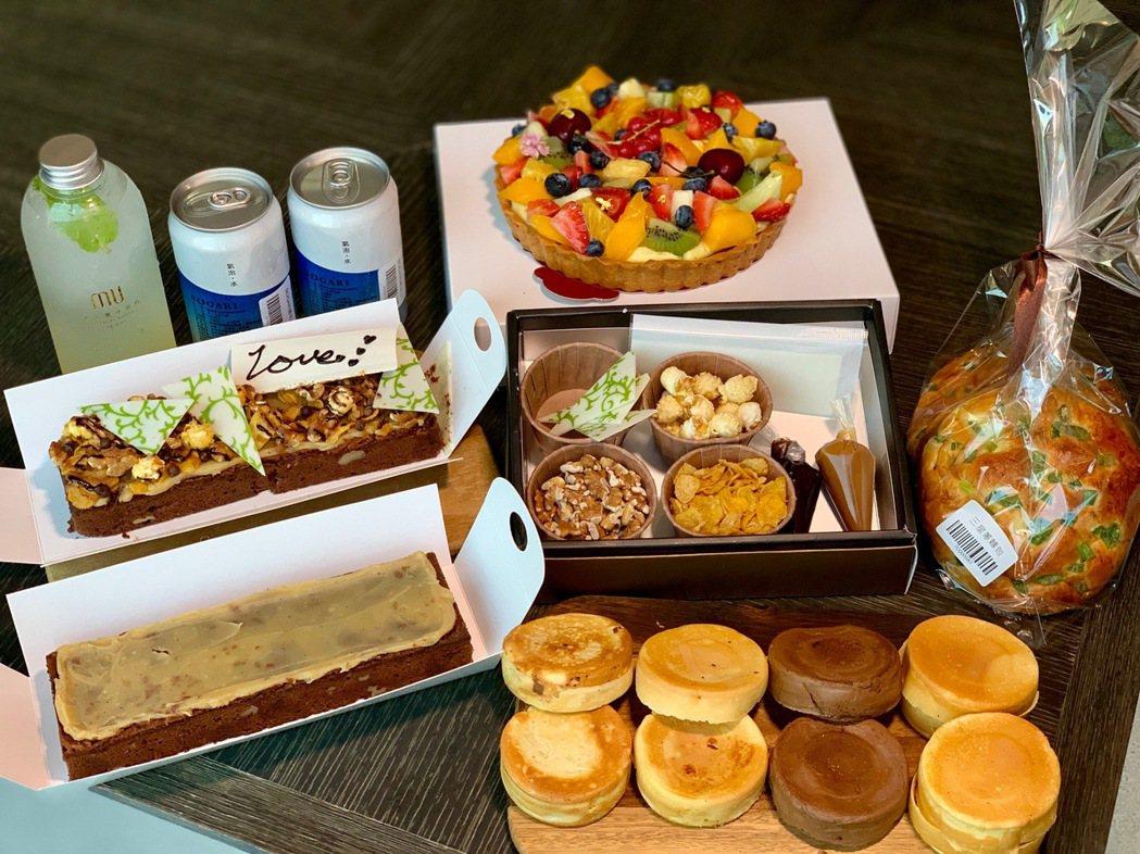 餐後甜點也有很多選擇,像480元的爆爆尼DIY巧克力蛋糕就很搶手。 陳志光/攝影