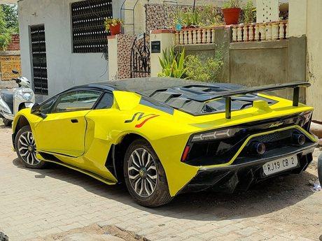 影/印度夢幻車廠讓你的Honda Civic變身Lamborghini只要25天!