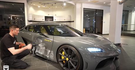 影/億元超跑如何快速美容?Koenigsegg Gemera美容大公開