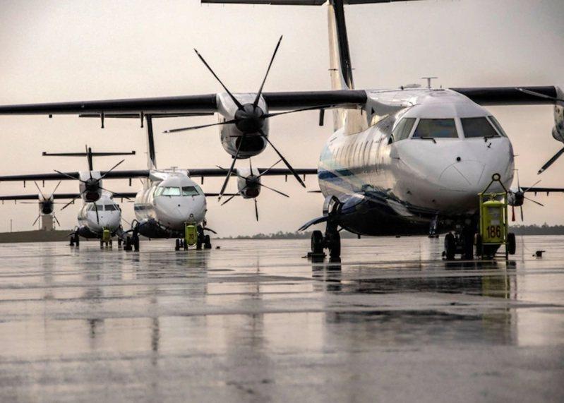 美軍一架C-146A行政專機15日短暫停留松山機場,圖為同款飛機。圖/美國空軍官網