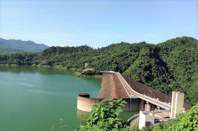 曾文水庫蓄水破3億立方公尺。圖/南水局提供
