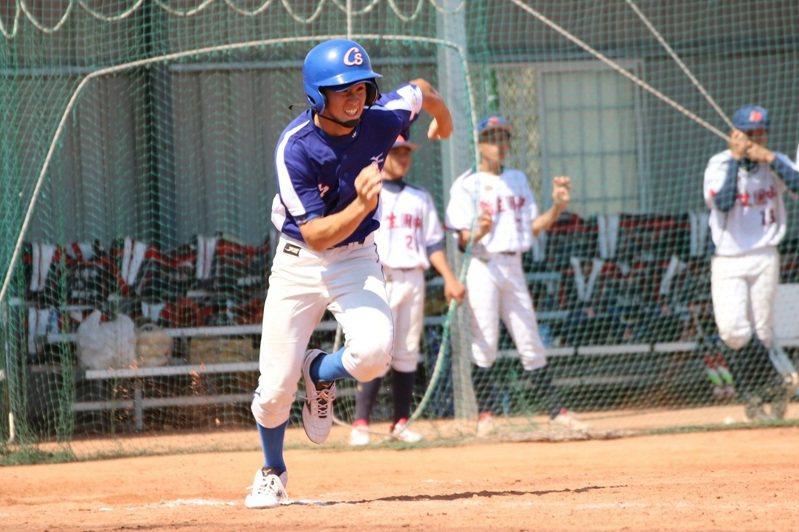 李承鴻畢業自台中市立中山國中棒球隊。圖/台中市運動局提供