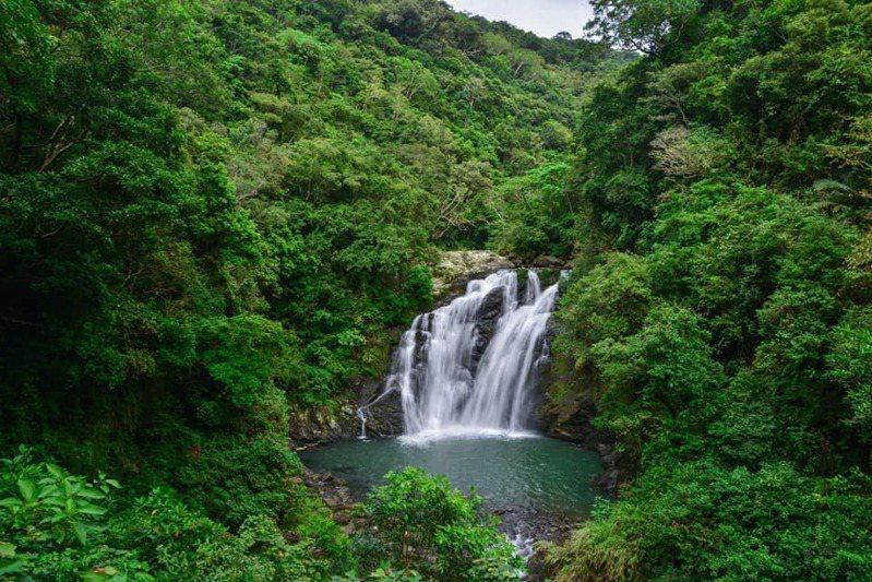 圖為雙流國家森林遊樂區。圖/林務局提供