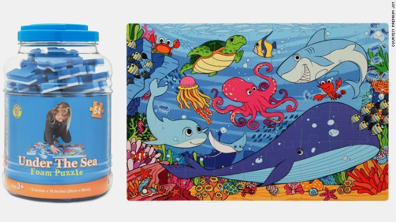 玩具商Premium Joy把全球最後一組海底主題拼圖玩具(如圖)的價格訂在2.8萬美元。網路照