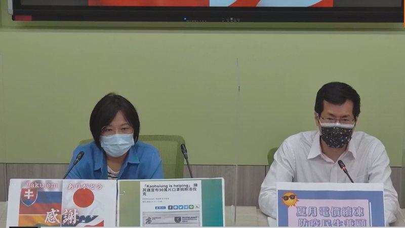 民進黨團質疑國民黨對上海復星賣的BNT情有獨鍾。