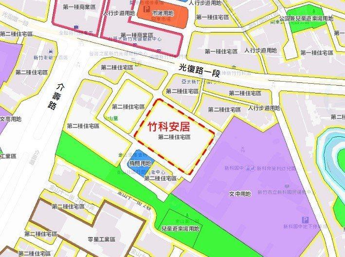 國家住都中心將在竹市東區蓋500多戶社宅。圖/國家住都中心提供