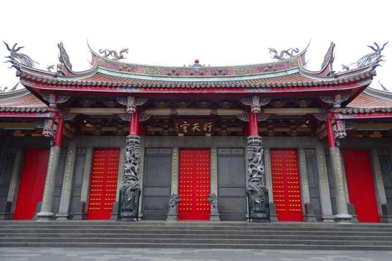 台北市行天宮。圖/取自台北旅遊網