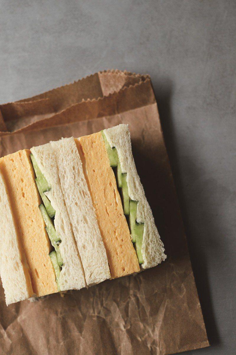 高湯煎蛋捲三明治。圖/台灣角川 提供 ©Yoko Wakayama 2020
