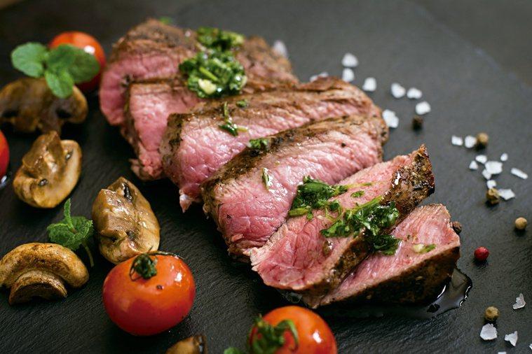紅肉中含有大量鐵。圖/123RF