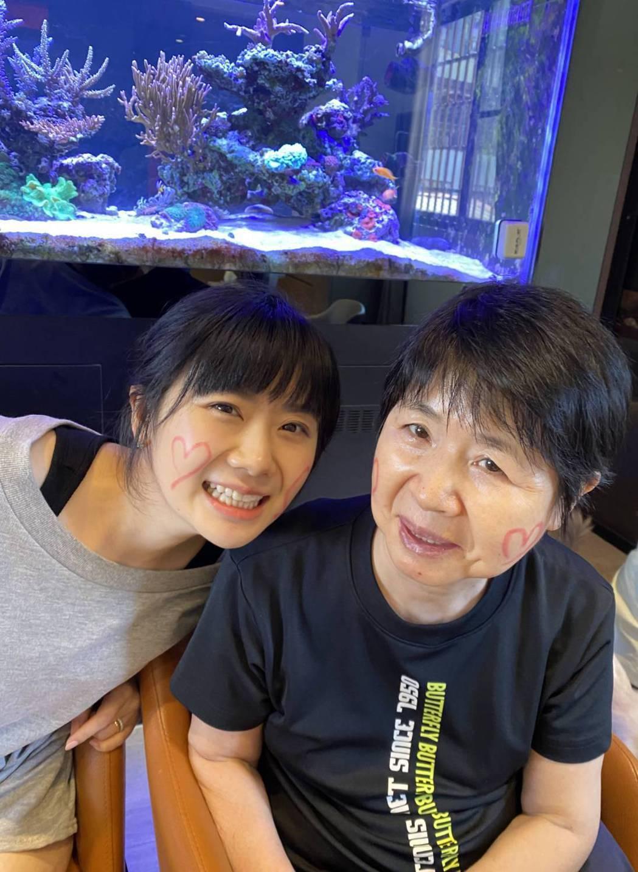 福原愛已經把媽媽接回日本。圖/摘自推特