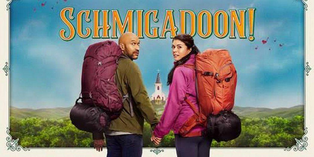 「歡迎來到施米加多!」是今年夏天最消暑的音樂喜劇。圖/APPLE TV+提供