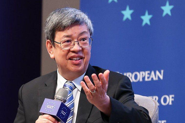 前副總統陳建仁。 圖/聯合報系資料照片